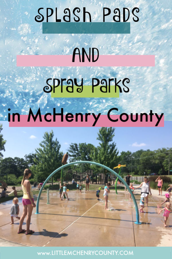 Splash Pads & Spray Parks in McHenry County