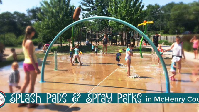 splash pads and spray parks in mchenry county
