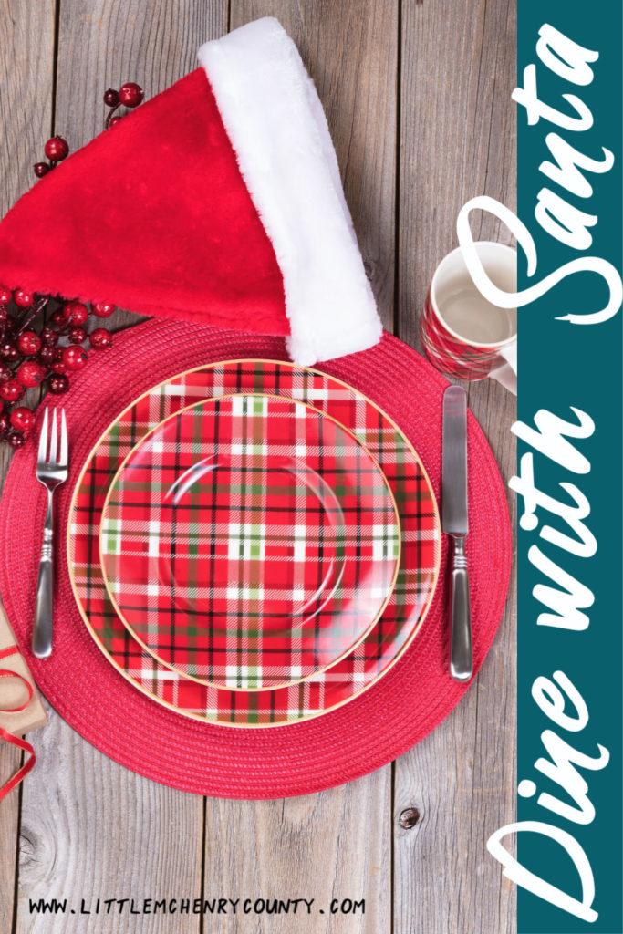 Tell him how good you were over breakfast, lunch, or dinner we have you covered with a list of places in McHenry County where you can dine with Santa